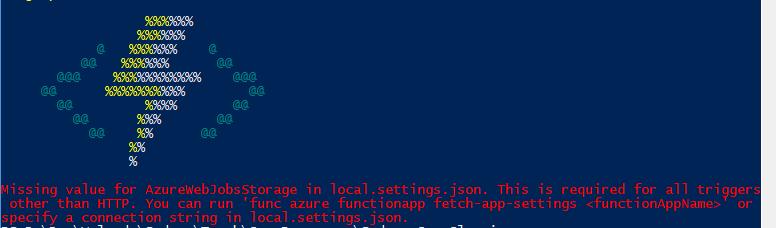 Azure func and Visual Studio | GP23 Consulting